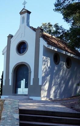 La ermita de Barraix tras las obras.