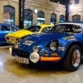 La estación de València Nord de Adif acoge una exhibición de automóviles 'Alpine A110' (1)