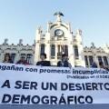 La plataforma Teruel Existe exige que el Corredor Cantábrico-Mediterráneo sea una realidad ya y critica los retrasos. (Foto-Manuel Molines).