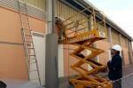 Las obras en el Mercado de Nazaret avanzan a buen ritmo.