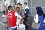 Llegan a España 13 refugiados sirios procedentes de Turquía y Grecia.