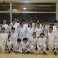 Los 'Grumetes del Marítim' al Torneo Europeo Sub 14 de Esgrima en Barcelona