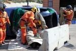 Los bomberos de València excarcelaron víctimas en 188 accidentes durante 2016.
