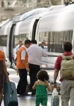Los paros no afectan a la circulación de los trenes.