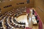 Los senadores y diputados valencianos, convocados el 25 de abril como acordó la Declaración Institucional de les Corts del pasado 5 de abril.