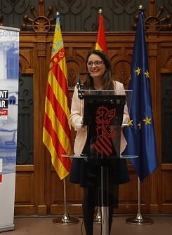 Mónica Oltra, vicepresidenta y consellera de Igualdad y Políticas Inclusivas.