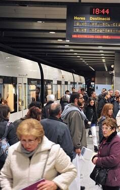 Metrovalencia ofrecerá unos servicios mínimos.