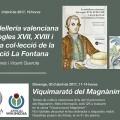 Novedades editoriales, presentaciones y una 'ViquiMarató' en la agenda del Magnànim para la Feria del Libro.