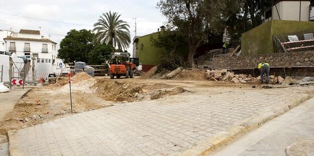 Obras ejecutadas a través del PIFS de la Diputación de Valencia. (Foto-Abulaila).