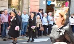 Ofrenda a Sant Vicent Ferrer, de los altares vicentinos al Patrón de la Comunitat Valenciana en Valencia (10)