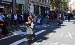 Ofrenda a Sant Vicent Ferrer, de los altares vicentinos al Patrón de la Comunitat Valenciana en Valencia (102)