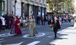Ofrenda a Sant Vicent Ferrer, de los altares vicentinos al Patrón de la Comunitat Valenciana en Valencia (103)