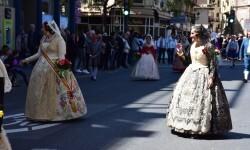 Ofrenda a Sant Vicent Ferrer, de los altares vicentinos al Patrón de la Comunitat Valenciana en Valencia (105)