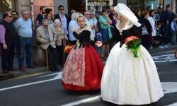 Ofrenda a Sant Vicent Ferrer, de los altares vicentinos al Patrón de la Comunitat Valenciana en Valencia (108)