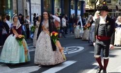Ofrenda a Sant Vicent Ferrer, de los altares vicentinos al Patrón de la Comunitat Valenciana en Valencia (110)
