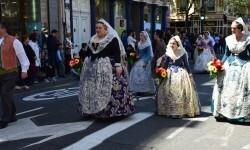 Ofrenda a Sant Vicent Ferrer, de los altares vicentinos al Patrón de la Comunitat Valenciana en Valencia (111)