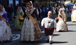 Ofrenda a Sant Vicent Ferrer, de los altares vicentinos al Patrón de la Comunitat Valenciana en Valencia (113)