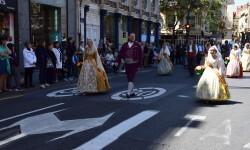 Ofrenda a Sant Vicent Ferrer, de los altares vicentinos al Patrón de la Comunitat Valenciana en Valencia (123)