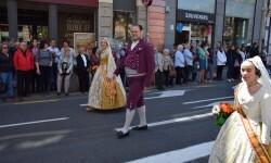 Ofrenda a Sant Vicent Ferrer, de los altares vicentinos al Patrón de la Comunitat Valenciana en Valencia (130)