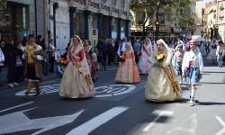 Ofrenda a Sant Vicent Ferrer, de los altares vicentinos al Patrón de la Comunitat Valenciana en Valencia (136)