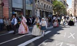 Ofrenda a Sant Vicent Ferrer, de los altares vicentinos al Patrón de la Comunitat Valenciana en Valencia (138)