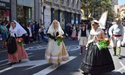 Ofrenda a Sant Vicent Ferrer, de los altares vicentinos al Patrón de la Comunitat Valenciana en Valencia (143)
