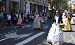 Ofrenda a Sant Vicent Ferrer, de los altares vicentinos al Patrón de la Comunitat Valenciana en Valencia (146)