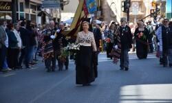 Ofrenda a Sant Vicent Ferrer, de los altares vicentinos al Patrón de la Comunitat Valenciana en Valencia (183)
