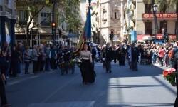 Ofrenda a Sant Vicent Ferrer, de los altares vicentinos al Patrón de la Comunitat Valenciana en Valencia (187)