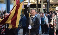 Ofrenda a Sant Vicent Ferrer, de los altares vicentinos al Patrón de la Comunitat Valenciana en Valencia (192)