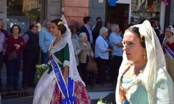 Ofrenda a Sant Vicent Ferrer, de los altares vicentinos al Patrón de la Comunitat Valenciana en Valencia (2)