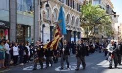 Ofrenda a Sant Vicent Ferrer, de los altares vicentinos al Patrón de la Comunitat Valenciana en Valencia (203)