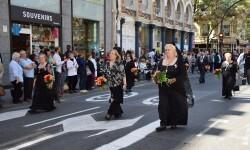 Ofrenda a Sant Vicent Ferrer, de los altares vicentinos al Patrón de la Comunitat Valenciana en Valencia (208)