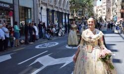 Ofrenda a Sant Vicent Ferrer, de los altares vicentinos al Patrón de la Comunitat Valenciana en Valencia (219)