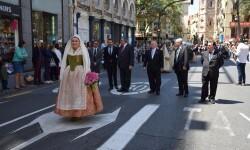 Ofrenda a Sant Vicent Ferrer, de los altares vicentinos al Patrón de la Comunitat Valenciana en Valencia (228)