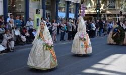 Ofrenda a Sant Vicent Ferrer, de los altares vicentinos al Patrón de la Comunitat Valenciana en Valencia (237)