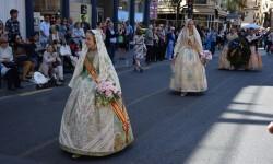 Ofrenda a Sant Vicent Ferrer, de los altares vicentinos al Patrón de la Comunitat Valenciana en Valencia (240)