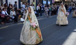 Ofrenda a Sant Vicent Ferrer, de los altares vicentinos al Patrón de la Comunitat Valenciana en Valencia (241)