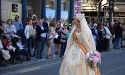 Ofrenda a Sant Vicent Ferrer, de los altares vicentinos al Patrón de la Comunitat Valenciana en Valencia (244)
