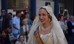 Ofrenda a Sant Vicent Ferrer, de los altares vicentinos al Patrón de la Comunitat Valenciana en Valencia (248)