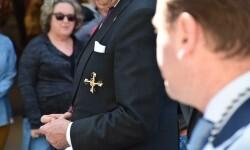 Ofrenda a Sant Vicent Ferrer, de los altares vicentinos al Patrón de la Comunitat Valenciana en Valencia (25)