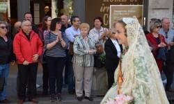 Ofrenda a Sant Vicent Ferrer, de los altares vicentinos al Patrón de la Comunitat Valenciana en Valencia (252)