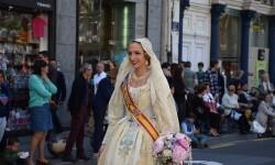 Ofrenda a Sant Vicent Ferrer, de los altares vicentinos al Patrón de la Comunitat Valenciana en Valencia (254)