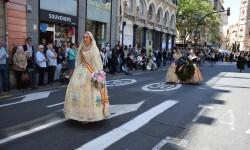 Ofrenda a Sant Vicent Ferrer, de los altares vicentinos al Patrón de la Comunitat Valenciana en Valencia (258)