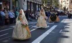 Ofrenda a Sant Vicent Ferrer, de los altares vicentinos al Patrón de la Comunitat Valenciana en Valencia (260)