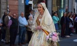 Ofrenda a Sant Vicent Ferrer, de los altares vicentinos al Patrón de la Comunitat Valenciana en Valencia (263)