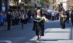 Ofrenda a Sant Vicent Ferrer, de los altares vicentinos al Patrón de la Comunitat Valenciana en Valencia (269)