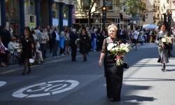 Ofrenda a Sant Vicent Ferrer, de los altares vicentinos al Patrón de la Comunitat Valenciana en Valencia (276)