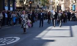 Ofrenda a Sant Vicent Ferrer, de los altares vicentinos al Patrón de la Comunitat Valenciana en Valencia (285)