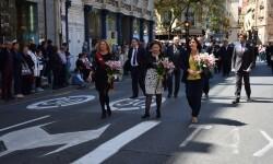 Ofrenda a Sant Vicent Ferrer, de los altares vicentinos al Patrón de la Comunitat Valenciana en Valencia (295)